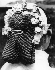 Tradicijska frizura Gačište