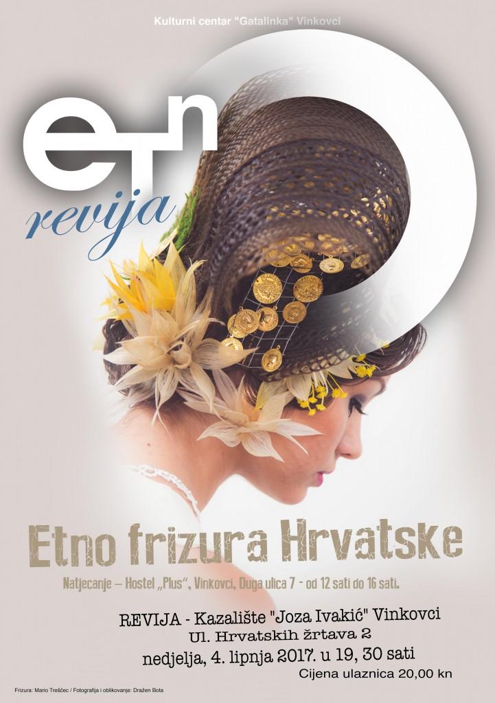 Natjecanje Etno frizura hrvatske
