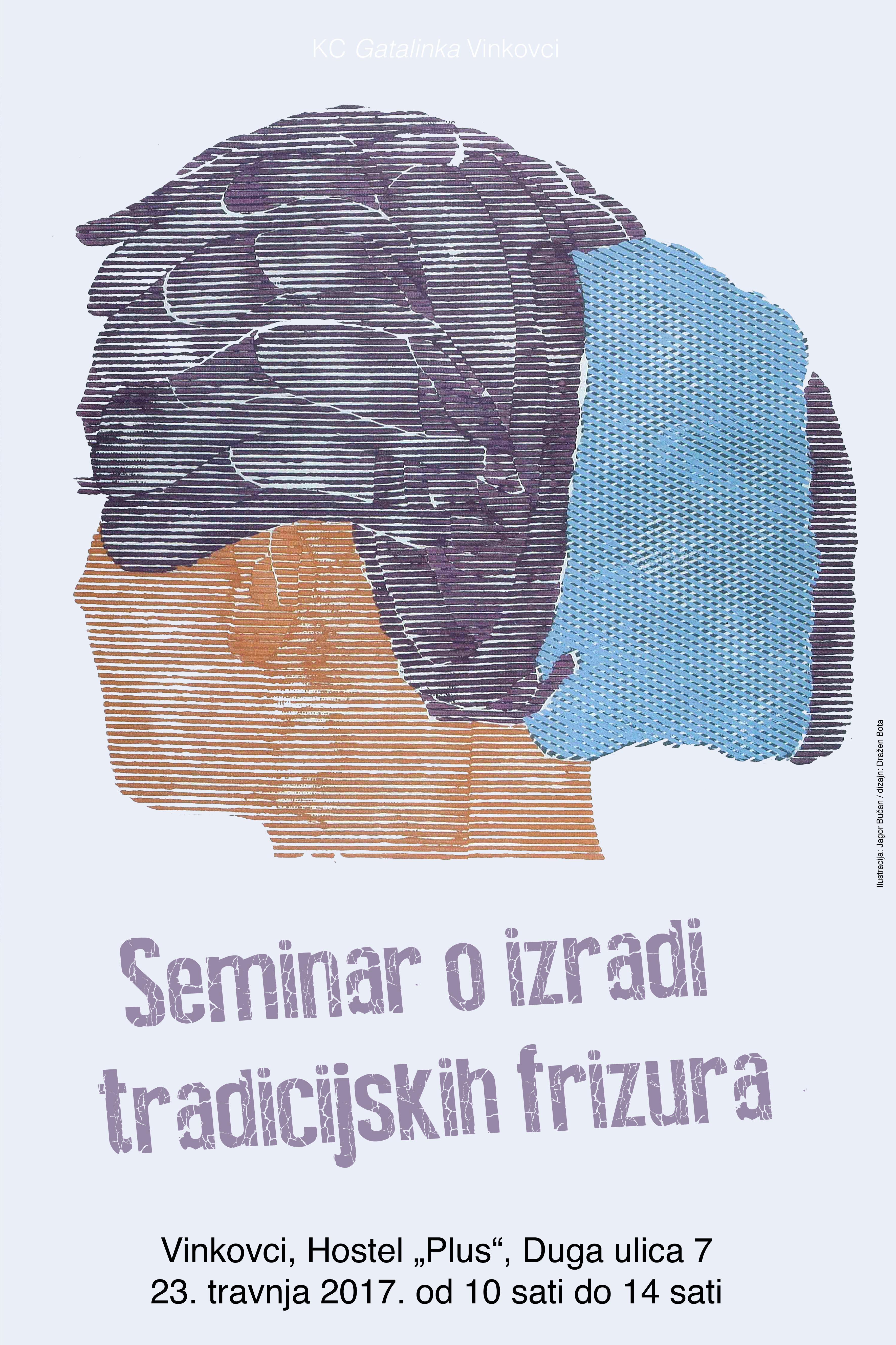 plakat semnar frizura 2017