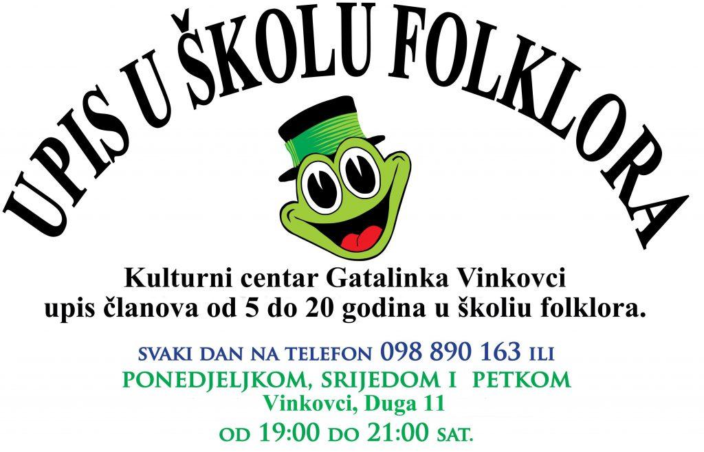 Upis u školu folklora